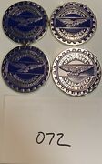 Zenith Wire Wheels Chips Emblems Campbell California Blue 072 Chrome Size 2.25andrdquo