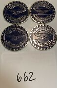 Zenith Wire Wheels Chips Emblems Campbell California Blue 662 Chrome Size 2.25andrdquo