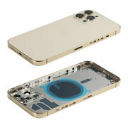 Us For Iphone 12 Pro Max Rear/back Cover Housing Glass Battery Frame Replacement