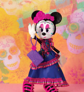 Disney Minnie Mouse Catrina Collectors Edition Day Of The Dead Doll - New In Box