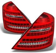 For 00-06 Mercedes Benz W221 S Class S450 S600 S550 Tail Brake Lights Lamps Set