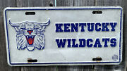 Kentucky Wildcats License Plate Collectable
