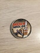 Nrol 82 Challenge Coin Ula Mission Coin Ussf