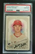 2018 Topps Allen And Ginter Shohei Ohtani Angels Rookie Card Rc Psa 10 100