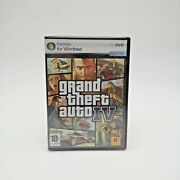 Grand Theft Auto Gta Iv Pc Game Spanish Can Play In Eng | Brand New And Sealed