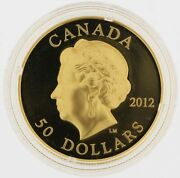 2012 50 Dollar 99999 Ultra-high Relief Gold Coin - Queenand039s Diamond Jubilee