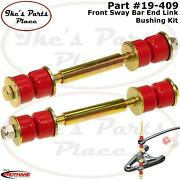 Prothane 19-409 Front Universal Sway Bar End Link Kit 4-1/2 Mnting Lgth