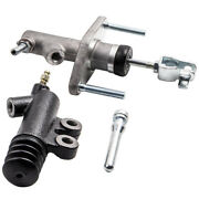 Clutch Slave And Master Cylinder Kit For Honda Civic Acura Integra D15 D16 92-01