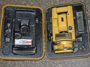 Topcon Gts-301 2and039and039 Total Station For Surveying With Original Box
