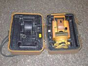 Topcon Gts-211d Total Station For Surveying With Original Case