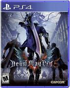 Devil May Cry 5 - Ps4/ Playstation 4 - Factory Sealed - Free Shipping