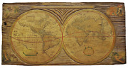 Antique World Map A New And Accvrat Map Of The World 1651