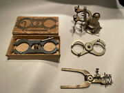 Lot Of Tools For Antique Clock And Watch Repair- Balance Truing Calipers