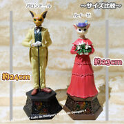 Studio Ghibli Whisper Of The Heart Music Box Baron And Luise Set Official F/s New