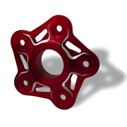 Cnc Racing Mv Agusta Sprocket Flange Bicolour - Dragster 800 Rc 2017+ - Red-s...