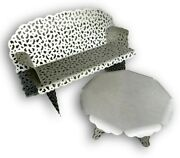 Knoll Richard Schultz Topiary Modern Bench And Coffee Table, Outdoor Furniture