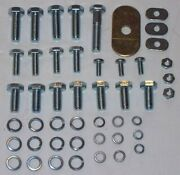 Mg Front Fender / Wing Install Hardware Kit All Mgb 1962-1980