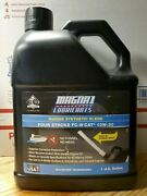 Magna1 Marine Synthetic Blend 4 Stroke 10w 30 Oil Fc-w Cat With Spout 1 Gallon