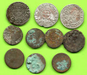 Lot Of 10 Poland Ca 1623 Lithuania Latvia Russia Golden Horda Elbing Prussia 808