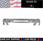 New Usa Made Chrome Front Bumper For 2007-2013 Gmc Sierra 1500 Ships Today