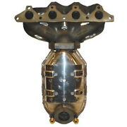 For Hyundai Accent 2000 2001 2002 49-state Manifold Catalytic Converter Tcp