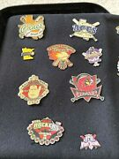 Lot Of 29 Cooperstown Dreams Park Baseball Pins Vintage 2009 Carrying Case - D