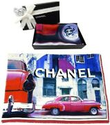 Large Size Stall Scarf Vip Holiday Gift Classic Cars Silk 100