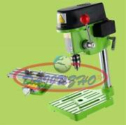 New 220v Mini Precision High Speed Bench Drilling Milling Machine With Workbench