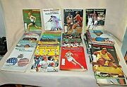 Lot Of 45 1960's And 1970's Sports Illustrated Back Issue Magazines