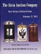 641 Ea. Beer Steins - Types Makers Dates / Illustrated Book + Values