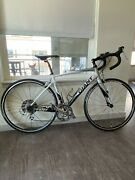 Giant Defy 3 Road Bike Carbon Fork, New Wheelset And Tires, New Pedals And Cassette