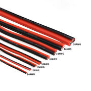 2-core Dual-core Cable Silicone Flexible Wire 8awg-30awg Wire High Temperature.