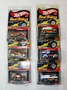 Hot Wheels Rlc Real Riders Lot Of 6 Dairy Delivery, Chevy Panel, Volkswagen More