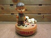 Vintage 60's Made In Italy Linus Snoopy Music Box 200423n8-otclct 1960s Peanuts
