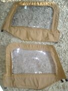 Jeep Wrangler Clear Windows Set Of 2 Zip Up New Never Used Windows Only