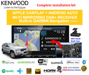 Kenwood Dnx9190dabs For Jeep Grand Cherokee 2005-2008 Wh Stereo Upgrade Amp