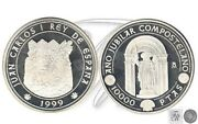 Spain - Coins King Commemorative Fnmt- Year 1999 - Number 00699 - Proof 10000