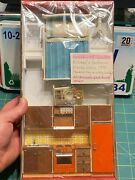 Vintage Lot Lundby Dollhouse Furniture Kitchen Bedroom 70and039s