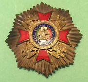 Early 20th Century Mexican- Gen. Comonfort Breast Star Medal Decoration