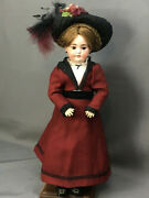 18 Early Straight-wrist 5 Mystery Doll Bisque-head Antique German Kestner