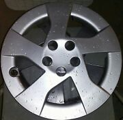 5 Hubcaps 16 And A 1/4 Inch Plastic Silver Made In Tawian Wheelcovers And More