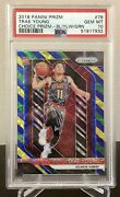 2018-19 Prizm Choice Trae Young Blue Yellow Green Rookie Rc Psa 10 Gem Mint🔥