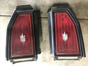 81 82 83 84 85 86 Chevy Monte Carlo Tail Light Right And Left Side Oemandnbsp + Surround