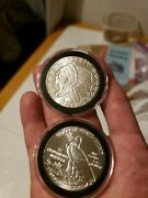 1 Oz Silver Rounds Golden State Mint. Qty.2 Silver Rounds.