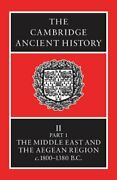 Cambridge Ancient History Volume 2, Part 1 Middle East By I. E. S. Edwards And C.