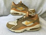 Men Sz 9.5 Nike Air Max 93 306551 121 Maple Low Top Guc As Is