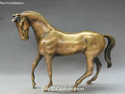 11 Unique China Bronze Wealth Feng Shui Horse Horses Animal Statues