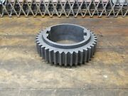 Vintage Industrial Steampunk Cast Iron Gear Pulley Sprocket Lamp Base Project