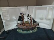 S.s. Specter - 2011 Lemax Spooky Town - Ghost Ship - Retired - Very Rare And Vhtf