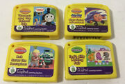 Vtech Leapfrog My First Leappad Lot Of 4 Game Cartridges, Thomas The Train,